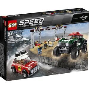 LEGO Speed Champions: 1967 Mini Cooper S Rally si automobil sport 2018 MINI John Cooper Works 75894, 8 ani+, 481 piese