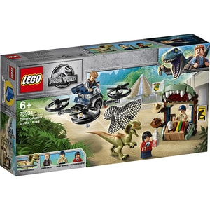 LEGO Jurassic World: Dilophosaurus in libertate 75934, 6 ani+, 168 piese