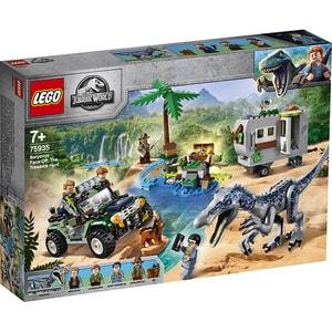 LEGO Jurassic World: infruntarea Baryonyx: Vanatoarea de comori 75935, 7 ani+, 434 piese