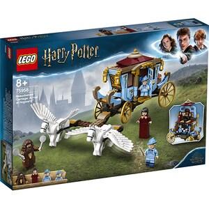 LEGO Harry Potter: Trasura lui Beauxbatons: Sosire la Hogwarts 75958, 8 ani+, 430 piese