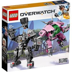 LEGO Overwatch: D.Va & Reinhardt 75973, 10 ani+, 455 piese