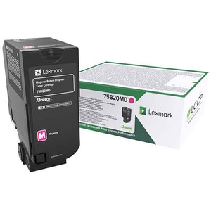 Toner LEXMARK 75B20M0 Return Program, magenta