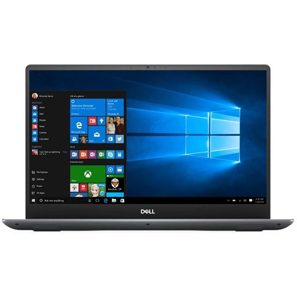"Laptop DELL Vostro 7590, Intel Core i5-9300H pana la 4.1GHz, 15.6"" Full HD, 8GB, SSD 256GB, NVIDIA GeForce GTX 1050 3GB, Windows 10 Pro, gri"