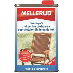 Ulei pentru protejarea lemnului de tek MELLERUD, 500ml