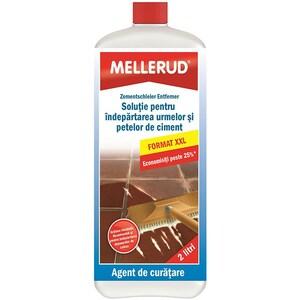 Solutie de curatare a urmelor si petelor de ciment MELLERUD, 2l