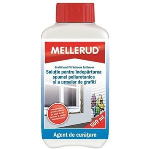 Solutie de curatare a spumei poliuretanice si urmelor de grafiti MELLERUD, 500ml
