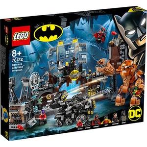 LEGO Super Heroes: Invazia lui Clayface in Batcave 76122, 8 ani+, 1038 piese