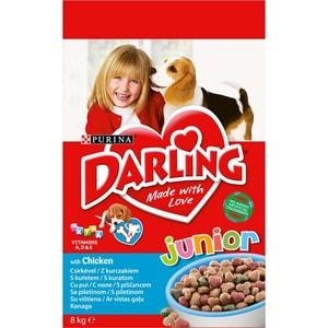 Hrana uscata pentru caini DARLING Junior, Pui, 8 kg
