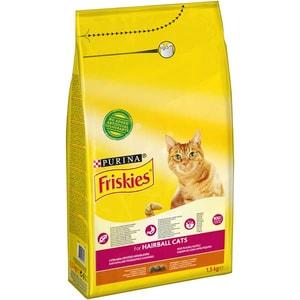 Hrana uscata pentru pisici FRISKIES Adult, Pui si legume, 1.5 kg