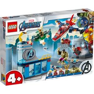 LEGO Super Heroes: Furia Razbunatorilor impotriva lui Loki 76152, 4 ani+, 223 piese