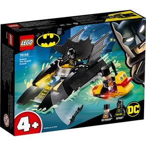 LEGO Super Heroes: Urmarirea Pinguinului cu Batboat 76158, 4 ani+, 54 piese