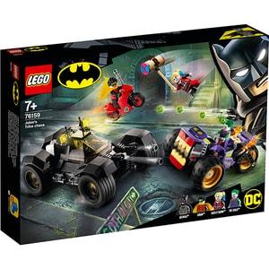 LEGO Super Heroes: Urmarirea lui Joker cu mototriciclul 76159, 7 ani+, 440 piese