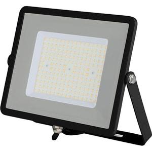 Proiector LED V-TAC 766, 100W, 12000 lumeni, IP65, lumina naturala, negru