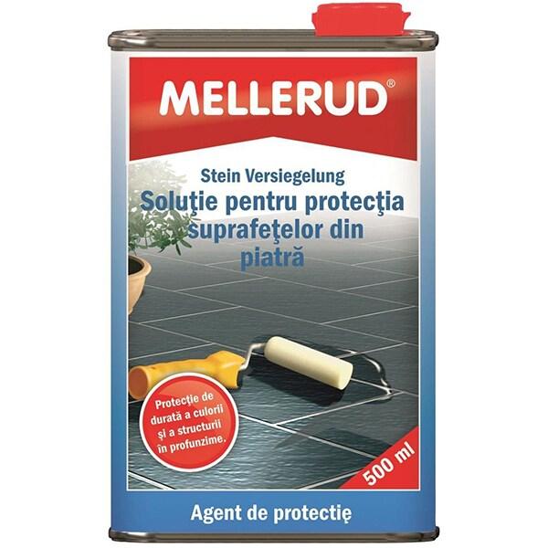 Solutie pentru protectia suprafetelor din piatra MELLERUD, 500ml