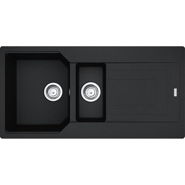 Chiuveta bucatarie FRANKE UBG 651-10, 1 cuva 1/2, compozit granit, negru