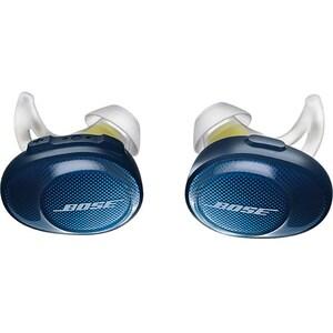 Casti BOSE SoundSport Free 774373-0020, True Wireless Bluetooth, In-Ear, Microfon, albastru-galben