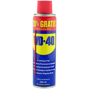 Spray lubrifiant multifunctional WD-40, 240ml