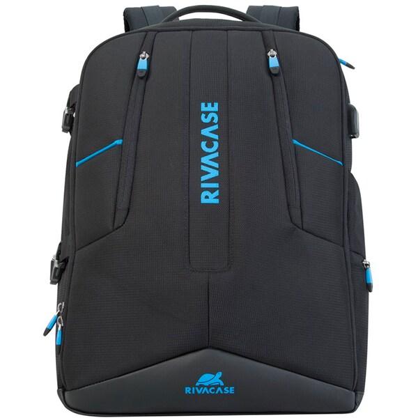 """Rucsac laptop RIVACASE 7860, 17.3"""", negru"""