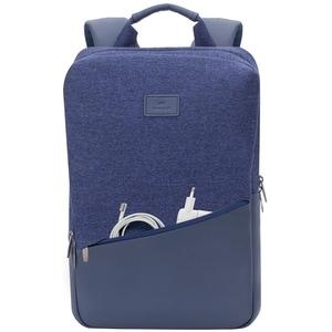 """Rucsac laptop RIVACASE 7960, 15.6"""", poliuretan, albastru"""