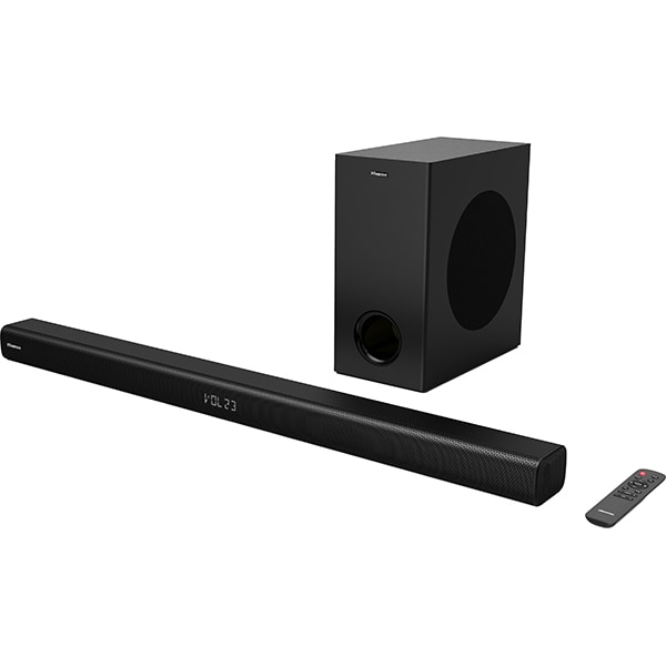 Soundbar HISENSE HS218, 200W, Bluetooth, negru