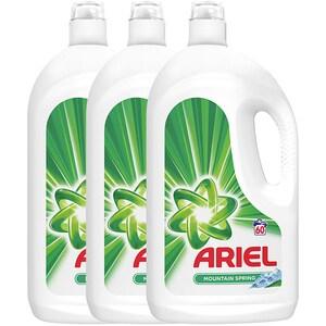 Detergent lichid ARIEL Mountain Spring, 3 x 3.3 l, 180 spalari