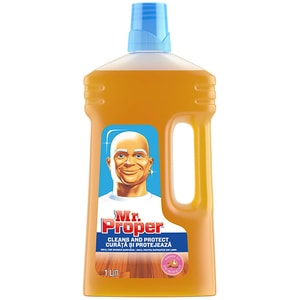 Detergent pentru suprafete din lemn MR. PROPER, 1l