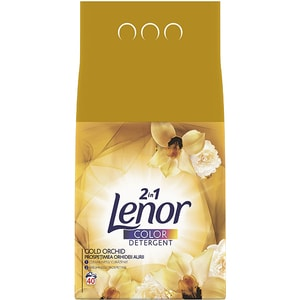 Detergent pudra LENOR Gold Orchid Color, 4kg, 40 spalari