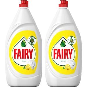 Pachet 2 x Detergent de vase FAIRY Lemon, 1.3 l