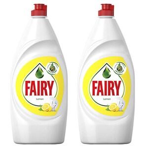 Pachet Promo Detergent de vase FAIRY Lemon, 2 x 800 ml