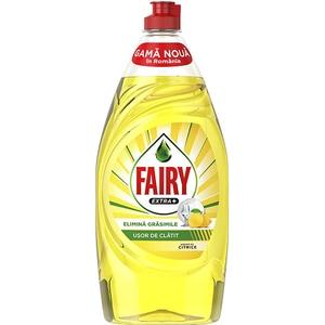 Detergent de vase FAIRY Extra+ Citrice, 900 ml
