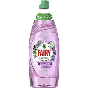 Detergent de vase FAIRY Pure & Naturals Lavanda & Rozmarin, 650 ml