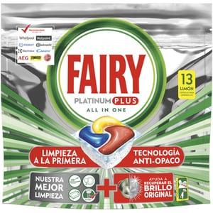 Detergent pentru masina de spalat vase FAIRY Platinum Plus, 13 capsule