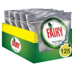 Detergent pentru masina de spalat vase FAIRY Platinum, 125 capsule