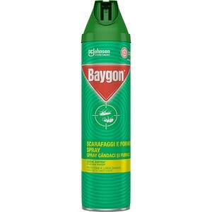 Spray anti-insecte taratoare BAYGON, 400 ml