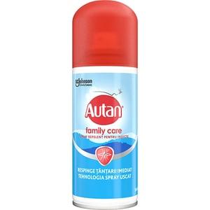 Spray repelent anti-tantari AUTAN Family Care, 100 ml