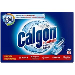Tablete anticalcar CALGON PowerBall, 30 bucati