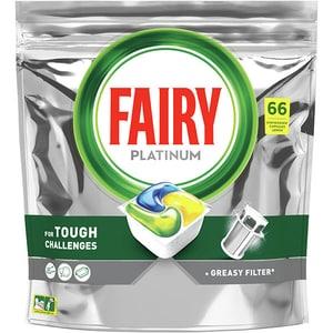Detergent pentru masina de spalat vase Fairy Platinum, 66 capsule