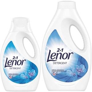 Pachet Promo Detergent lichid LENOR Spring Awakening 1.1 l, 20 spalari + 2.2 l, 40 spalari