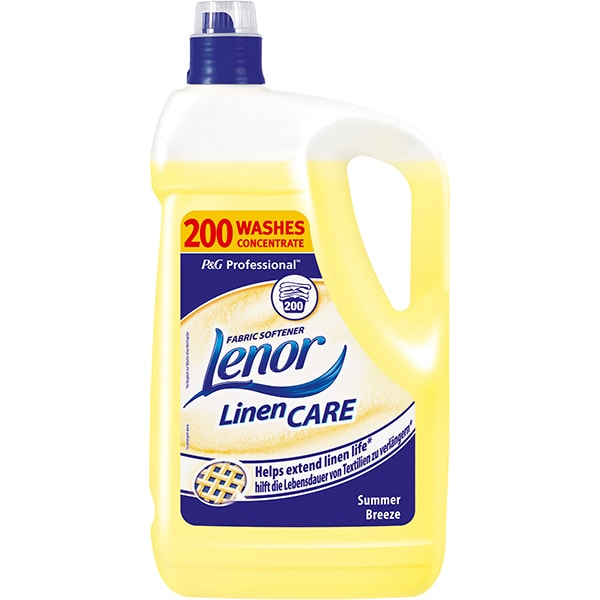 Balsam de rufe LENOR Professional Summer, 5l, 200 spalari