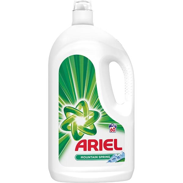 Detergent lichid ARIEL Mountain Spring, 3.3l, 60 spalari
