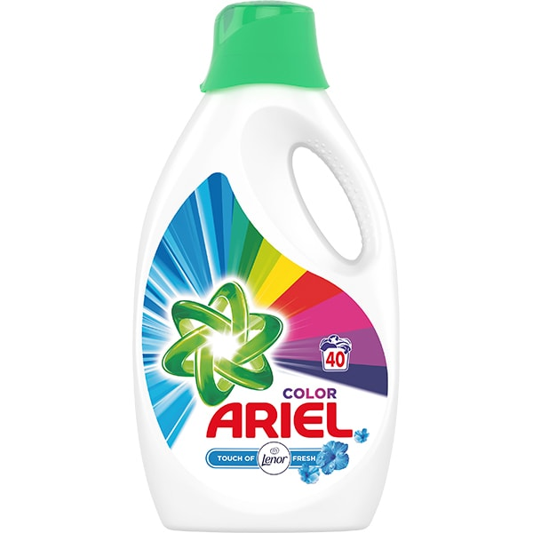 Detergent lichid ARIEL Touch of Lenor Fresh, 2.2l, 40 spalari