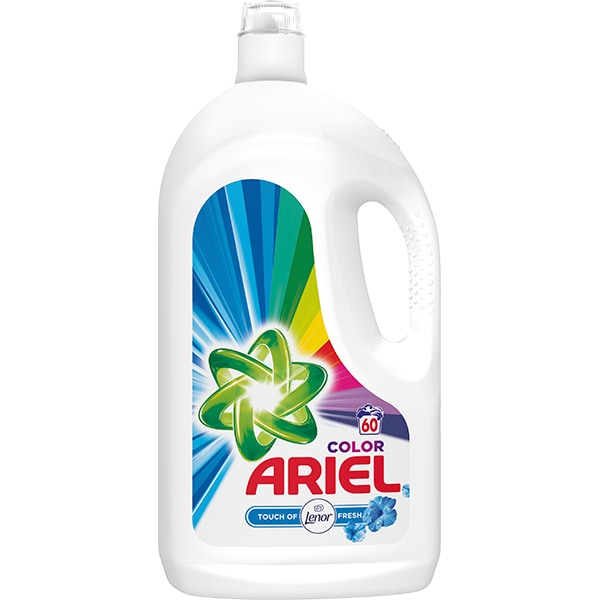 Detergent lichid ARIEL Touch Of Lenor, 3.3l, 60 spalari