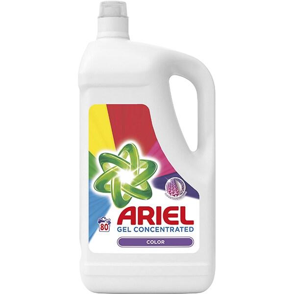 Detergent lichid ARIEL Color, 4.4l, 80 spalari