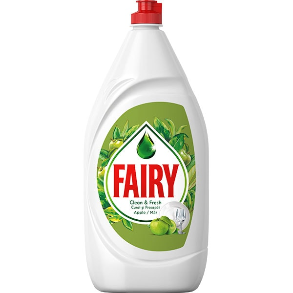 Detergent de vase FAIRY Apple, 1.3 l