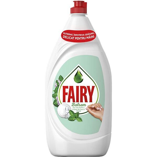 Detergent de vase FAIRY Sensitive Tea Tree & Mint, 1.3 l