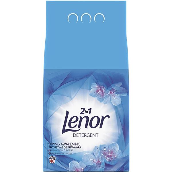 Detergent pudra LENOR Spring Awakaning, 4kg, 40 spalari