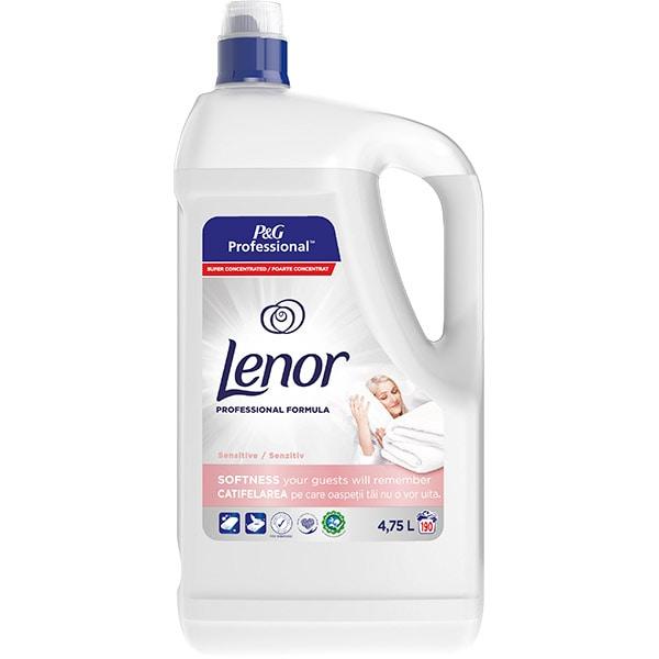 Balsam de rufe LENOR Professional Sensitive 4.75 l, 190 spalari