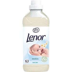 Balsam de rufe LENOR Pure Care, 1.9l, 63 spalari