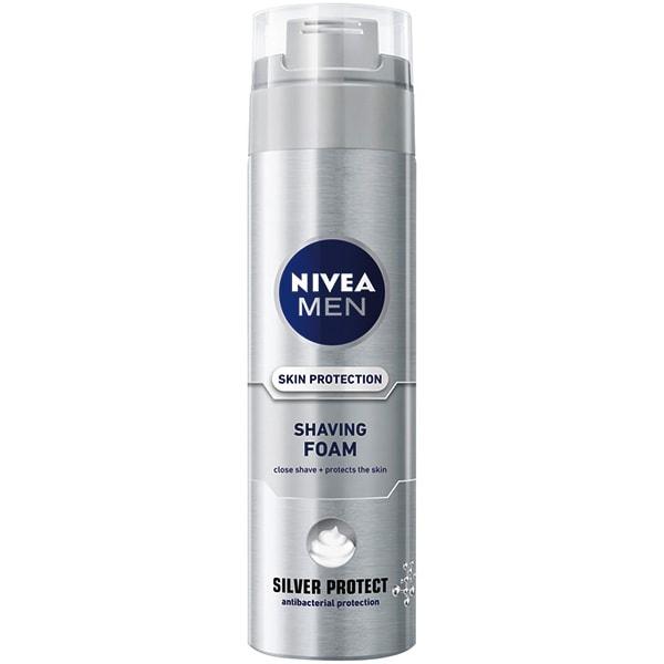 Spuma de ras NIVEA Men Silver Protect, 200ml