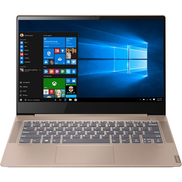 "Laptop LENOVO IdeaPad S540-14API, AMD Ryzen 7 3700U pana la 4.0GHz, 14"" Full HD, 8GB, SSD 512GB, AMD Radeon RX Vega 10, Windows 10 Home, maro deschis"